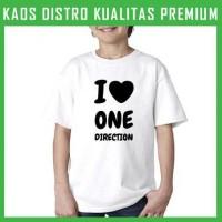 Jual Kaos One Direction Love 1 Anak ANK-ODN01 Laki / Perempuan Murah