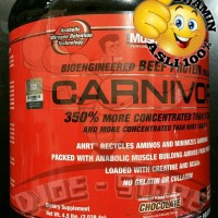 NEW STOCK Carnivor CHOCOLATE Beef Protein Isolate Musclemeds BPOM AOM