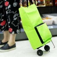 Jual Tas Trolley Tas Belanja Lipat Beroda Serbaguna/ Trolly Bag/ Tas Ramah  Murah