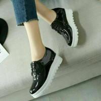 |crs| Super Murah Sepatu Boots Docmart Lala Hitam