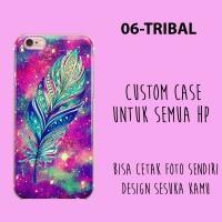 Jual casing tribal custom case termurah cetak case oppo xiaomi samsung asus Murah