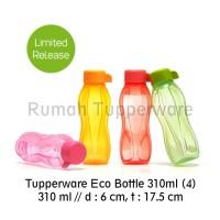 Jual Tupperware Eco Bottle 310ml (4pcs Botol Minum) Murah