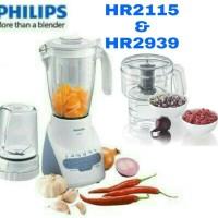 Paket Blender + Chopper Philips HR2115 HR2939 HR 2115 HR 2939