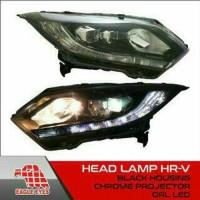 head lamp atau lampu depan honda hrv prestige 1set kanan dan kiri