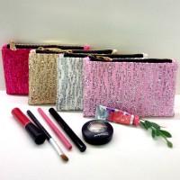 Jual Stripe Pouch / Clutch / Tas / Dompet Pesta Sequin Small Size Murah