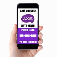 AXIS VOUCHER DATA WA+LINE+BBM