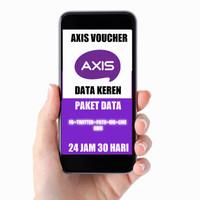 AXIS VOUCHER DATA FB+TWITTER+PATH+WA+LINE+BBM