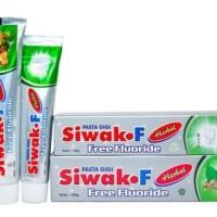 Jual Pasta gigi siwak F Herbal Free Fluoride 120 gram Murah