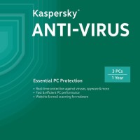 Jual Kaspersky Anti Virus KAV3 2016 Diskon Murah