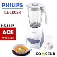 Blender Philips HR 2115 (Gelas berbahan plastik) - HR2115 Philip murah