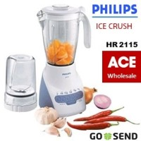 BLENDER PHILIPS HR 2115 PLASTIK 2 LITER ICE CRUSH / Philip HR2115