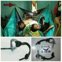 Jual hanging kit (hanger+ dyna bolt) for hammock eno dan tic Original Murah