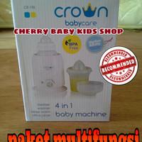 Jual crown 4 in 1 (penghangat susu, makanan, pemeras jeruk) Murah
