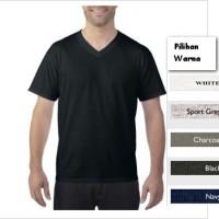 Jual Kaos Polos Gildan 63V00 Softstyle V-Neck  Murah