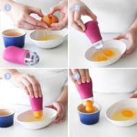 Jual [Sunny Side Out] Alat Penyedot kuning telur/Pemisah kuning telur Murah