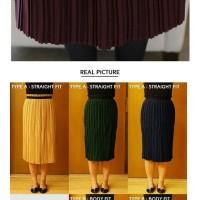 Jual Celine Pleated Skirt(#692)/Rok Midi/Rok kerja Murah Murah