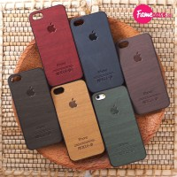 Case Casing Cover WOOD Hp iPhone 4 4s 5 5s 6 harga termurah