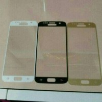 TEMPERED GLASS COLOR WARNA SAMSUNG GALAXY A9 A910 A9 PRO FULL