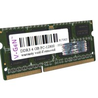 RAM DDR3 SODimm V-GeN 4GB PC12800/1600Mhz (Memory Laptop VGEN)