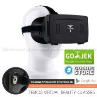 Jual PROMO MURAH Terios Google Cardboard Ver.2 VR (Virtual Reality) 3D Gla Murah