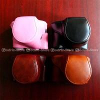 Jual PROMO MURAH Fujifilm X-A2/X-A1/X-M1 Leather Bag/Case/Tas Kamera Murah