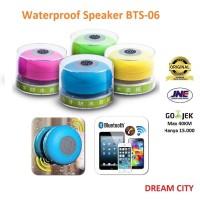 Jual BTSpeaker Waterproof Bluetooth Shower Speaker - BTS06 - HITAM Murah