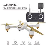 Jual Hubsan X4 H501S GPS Quadcopter FPV RTF (High Version) - White Murah