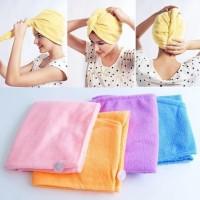 Jual MURAH DISKON Hair Wrap Magic Towel - Handuk Rambut Murah