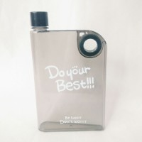 Jual Botol Minum Memo A5 420 ml Warna Hitam - JL Murah