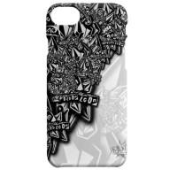 Indocustomcase Volcom Apple iPhone 7 or 8 Cover Hard Case