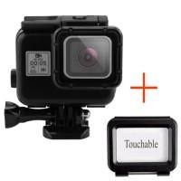 Jual Waterproof Case For GoPro Hero 5 Black Housing Underwater Touch Screen Murah
