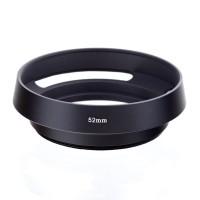 Metal Hood Lensa Lens Vented Ukuran Ring Filter 52mm 52 mm Canon Nikon