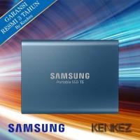 Samsung Portable SSD T5 500GB - Biru
