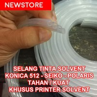 selang tube pipa solvent tinta konica seiko polaris outdoor printer