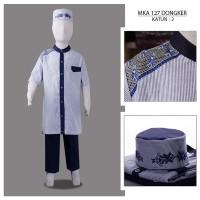 MKA127Dongker(8-10tahun) baju koko anak cowok cars cipulir