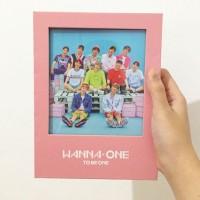 Wanna One Album Unsealed Pink Version