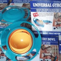 Jual TERMURAHH Gyro Bowl Mangkok Anti Tumpah GOOD QUALITY Murah