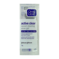 Clean and Clear Speed Clearing Acne Gel - active clear acne gel