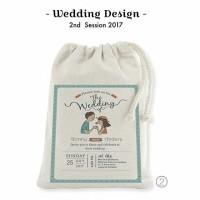 Tas / Pouch / Ransel / Tote Bag  Belacu / Blacu - Wedding / Bridesmaid