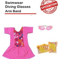 baju renang anak cewe / two pieces girl swimsuit