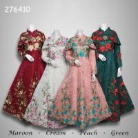 Jual Dress muslim brokat premium 276410 Murah