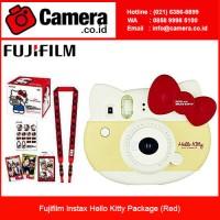 Fujifilm Instax Hello Kitty Package - Red / Kamera Instax