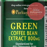 Jual GREEN COFFEE Bean 800 mg - Membakar Lemak - Pelangsing Murah