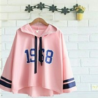 Hoodie Viola/Sweater Viola/Hoodie Cewek/Baju Murah/Baju Korea