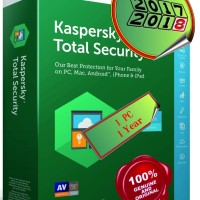 Jual Kaspersky Total Security 1 Device - 1YEAR - s/d 21/10/18 Murah