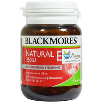 Jual Blackmores Natural E 250 IU Murah