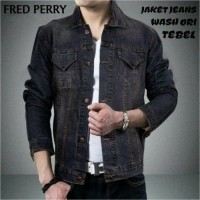Kemeja Jeans Fred Perry