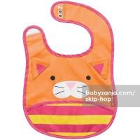 Jual  Skip Hop Zoo Bib  Cat T2909 Murah