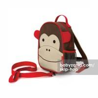 Jual  Skip Hop Mini Backpack with Rein  Monkey T2909 Murah