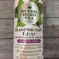 Super Herb Tea Raspberry Leaf teh buat Menopause dan Perkembang Hamil